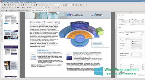 Скриншот программы Master PDF Editor для Windows 10