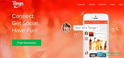 Скриншот программы Tango для Windows 10