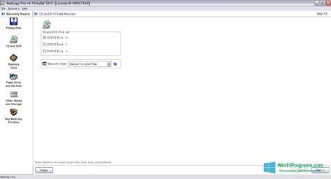 Скриншот программы BadCopy Pro для Windows 10