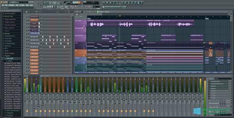 Скриншот программы FL Studio для Windows 10