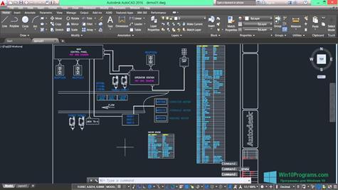 Скриншот программы AutoCAD Electrical для Windows 10
