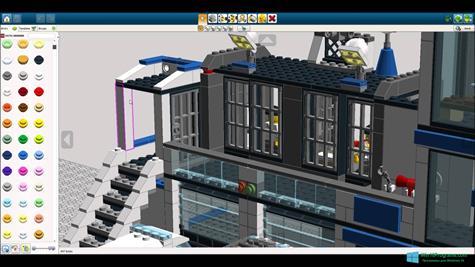Скриншот программы LEGO Digital Designer для Windows 10