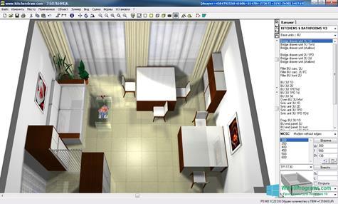 Скриншот программы KitchenDraw для Windows 10