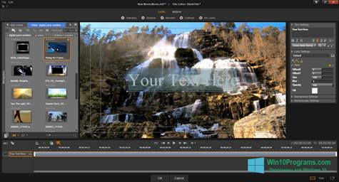 Скриншот программы Pinnacle Studio для Windows 10