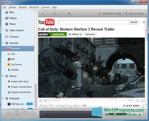 Скриншот программы Miro для Windows 10