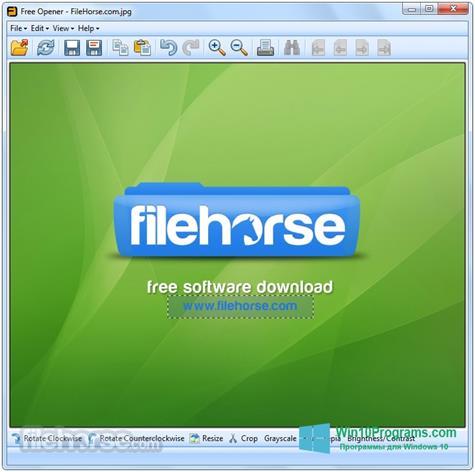 Скриншот программы Free Opener для Windows 10