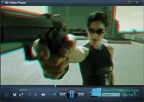 Скриншот программы 3D Video Player для Windows 10