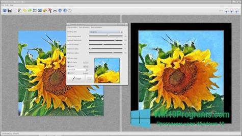 Скриншот программы FotoSketcher для Windows 10