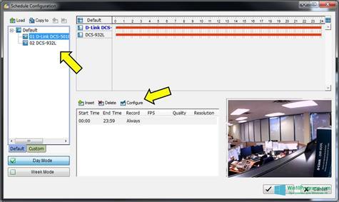 Скриншот программы D-ViewCam для Windows 10