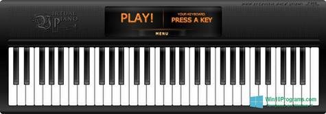 Скриншот программы Virtual Piano для Windows 10