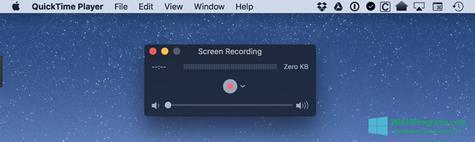 Скриншот программы QuickTime для Windows 10