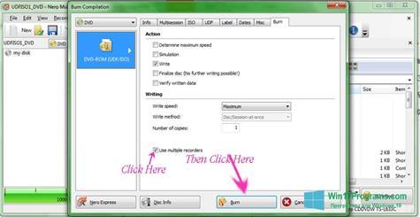 Скриншот программы Nero Image Drive для Windows 10