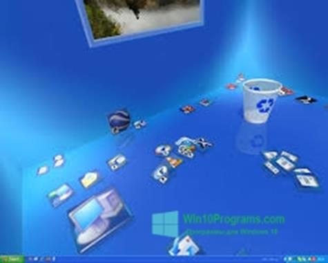 Скриншот программы Real Desktop для Windows 10