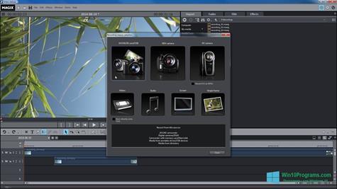 Скриншот программы MAGIX Movie Edit Pro для Windows 10