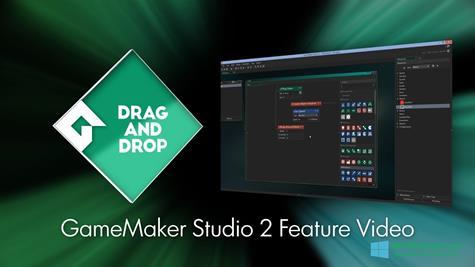 Скриншот программы Game Maker для Windows 10