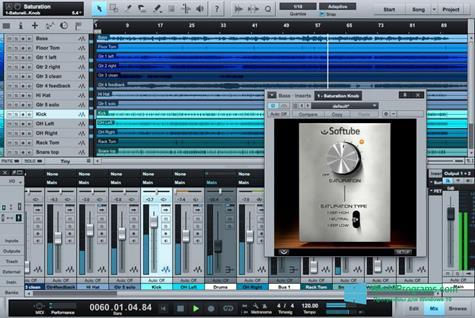 Скриншот программы Studio One для Windows 10