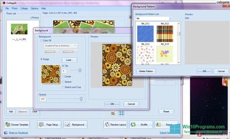 Скриншот программы CollageIt для Windows 10