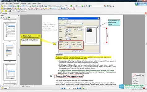 Скриншот программы PDF-XChange Editor для Windows 10