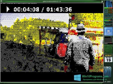 Скриншот программы MPlayer для Windows 10