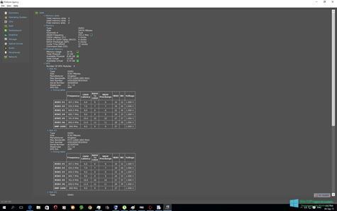 Скриншот программы Speccy для Windows 10