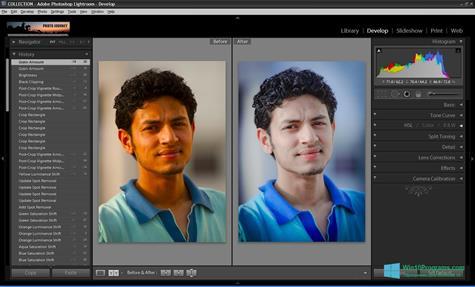 Скриншот программы Adobe Photoshop Lightroom для Windows 10