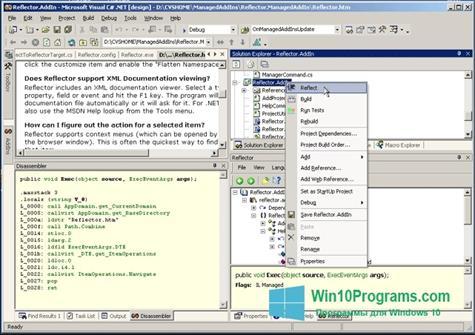Скриншот программы Reflector для Windows 10