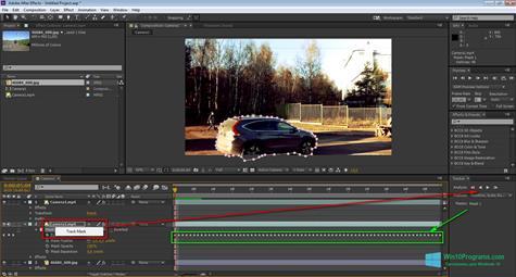 Скриншот программы Adobe After Effects CC для Windows 10