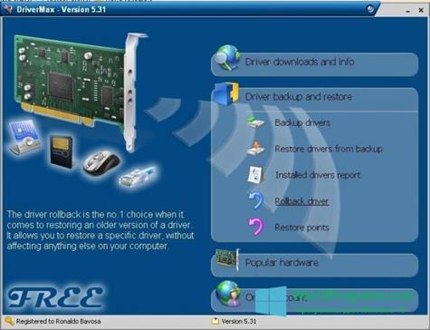 Скриншот программы Driver Cleaner для Windows 10