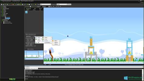 Скриншот программы GameMaker: Studio для Windows 10