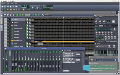 Скриншот программы Linux MultiMedia Studio для Windows 10