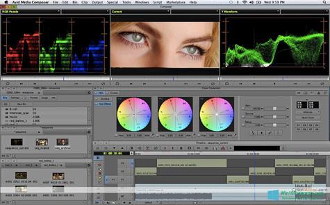 Скриншот программы Avid Media Composer для Windows 10