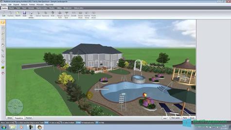 Скриншот программы Realtime Landscaping Architect для Windows 10