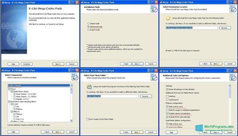 Скриншот программы K-Lite Mega Codec Pack для Windows 10