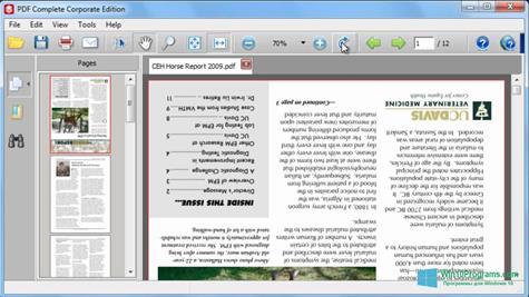 Скриншот программы PDF Complete для Windows 10