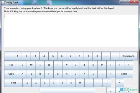 Скриншот программы Virtual Keyboard для Windows 10