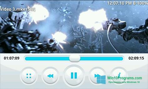 Скриншот программы BSPlayer для Windows 10