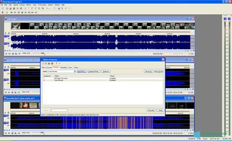 Скриншот программы Sound Forge для Windows 10
