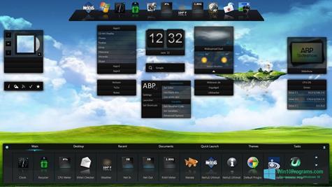 Скриншот программы Winstep Nexus для Windows 10