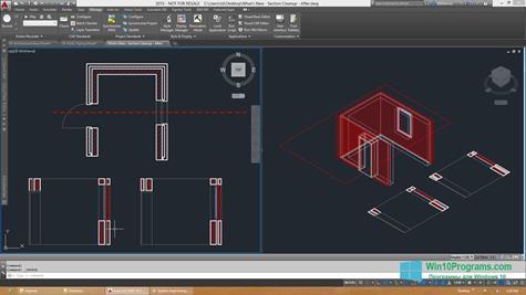 Скриншот программы AutoCAD Architecture для Windows 10