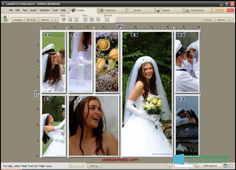 Скриншот программы FotoFusion для Windows 10