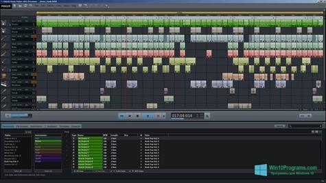 Скриншот программы MAGIX Music Maker для Windows 10
