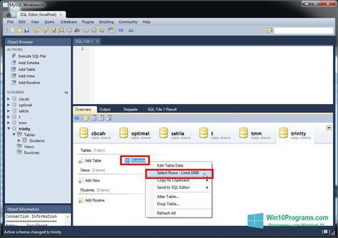 MySQL Workbench ( bit) 2020 – Free Download App for ...