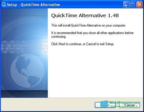 Скриншот программы QuickTime Alternative для Windows 10