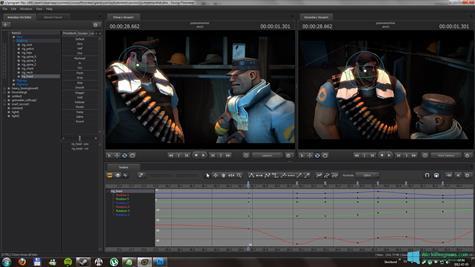 Скриншот программы Source Filmmaker для Windows 10