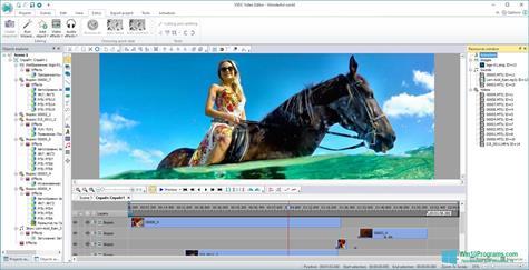 Скриншот программы Free Video Editor для Windows 10