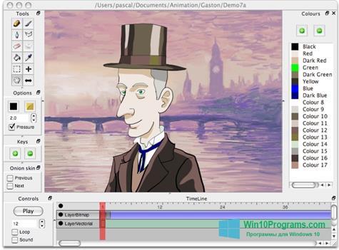 Скриншот программы Pencil для Windows 10