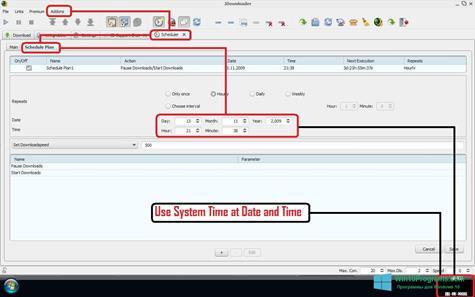 Скриншот программы JDownloader для Windows 10
