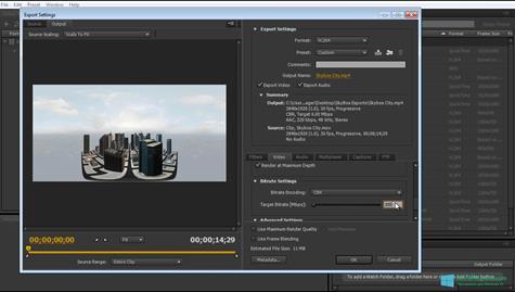 Скриншот программы Adobe Media Encoder для Windows 10