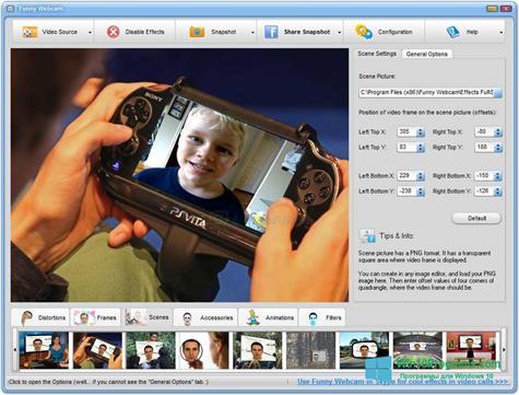 Скриншот программы Live WebCam для Windows 10