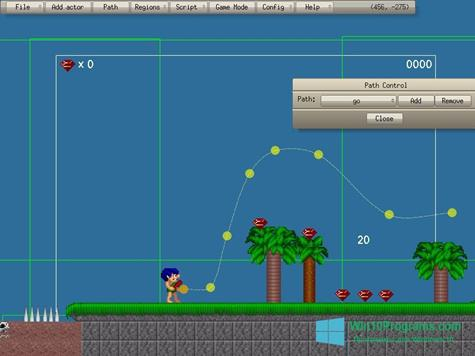Скриншот программы Game Editor для Windows 10